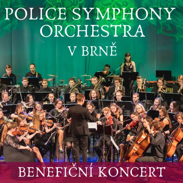 Benefiční koncert Police Symphony Orchestra