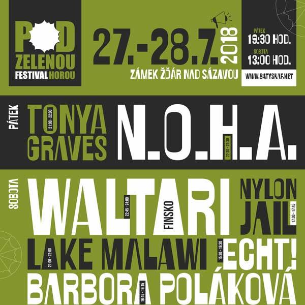 Festival Pod Zelenou horou ročník 2018