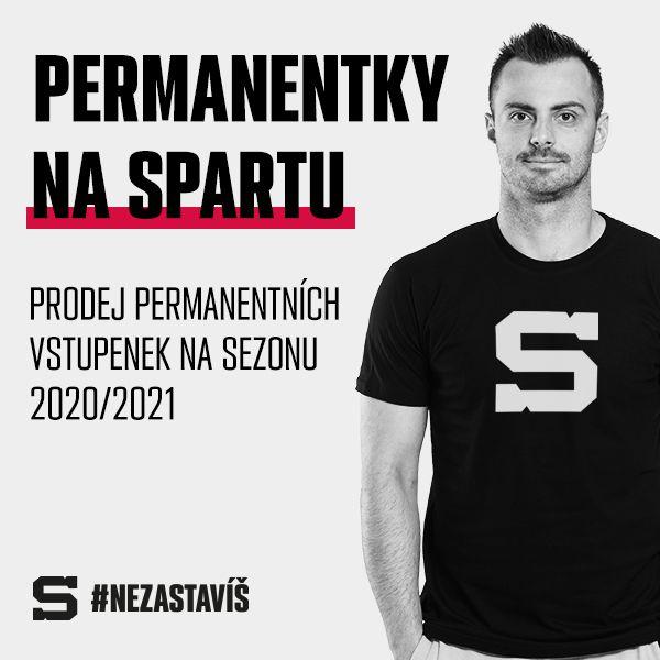 HC Sparta Praha - Permanentka 2020/2021