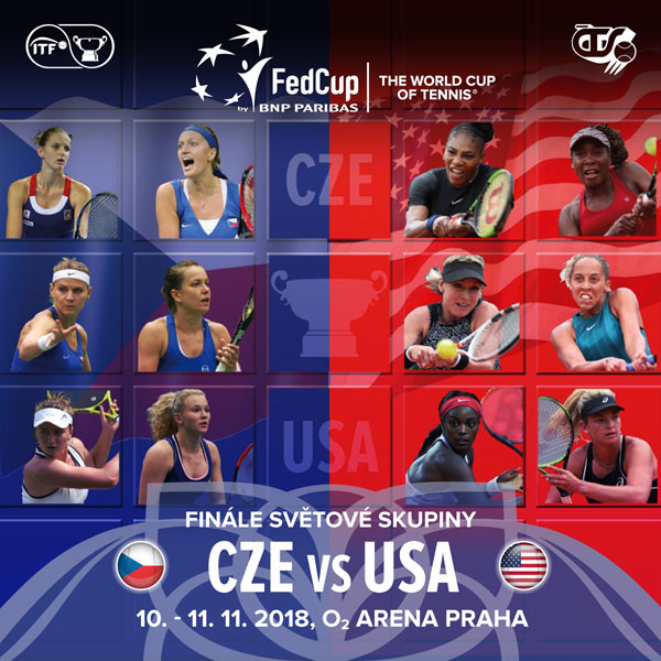 Fed Cup by BNP Paribas Česká republika vs. USA