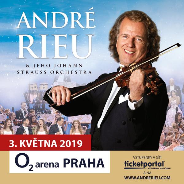 André Rieu in Prague 2019 - with his Johann Strauss Orchestra - koncert v Praze -O2 Arena Praha, Českomoravská 2345/17, Praha