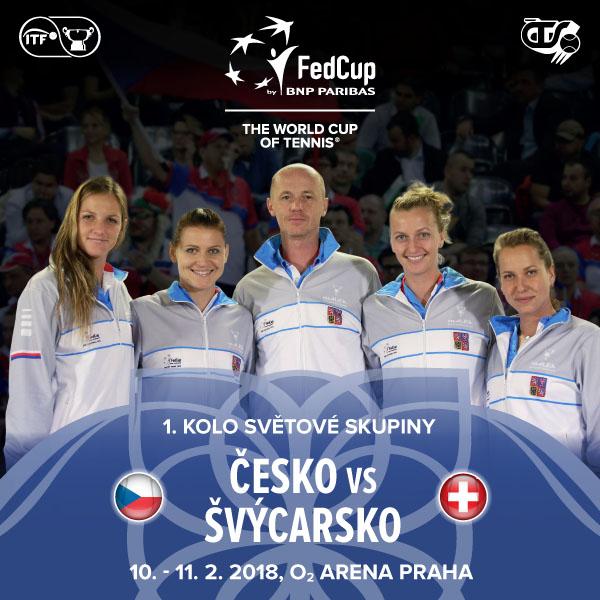 Fed Cup by BNP Paribas Česko – Švýcarsko