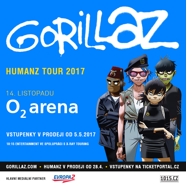 GORILLAZ 2017 – Package Tickets