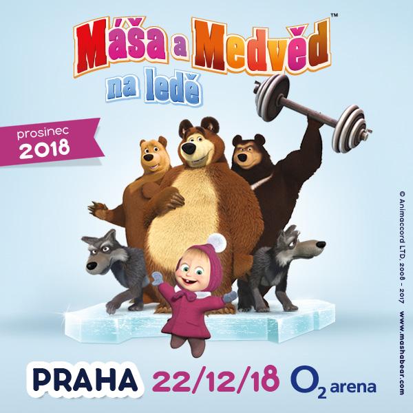 Máša a Medvěd na ledě