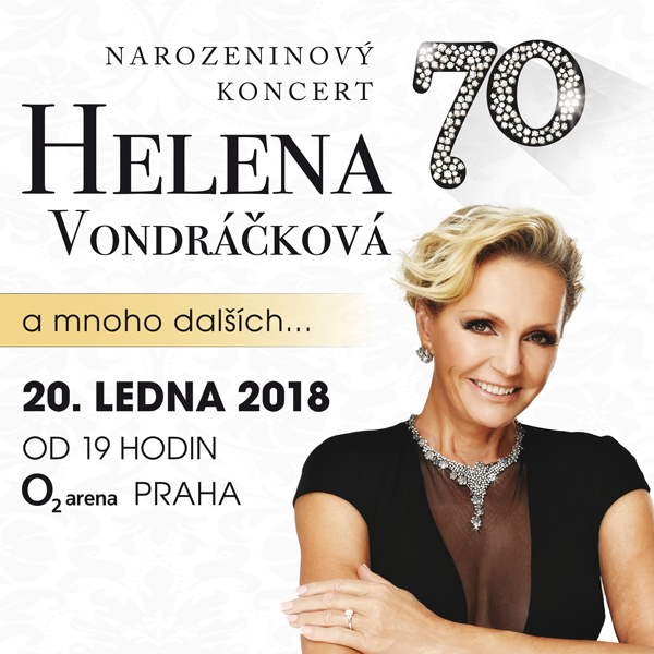 "HELENA VONDRÁČKOVÁ  ""70"""