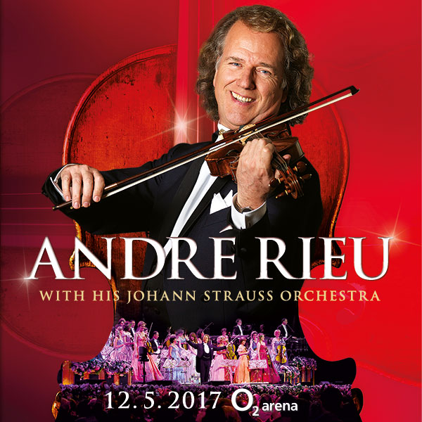 André Rieu in Prague 2017