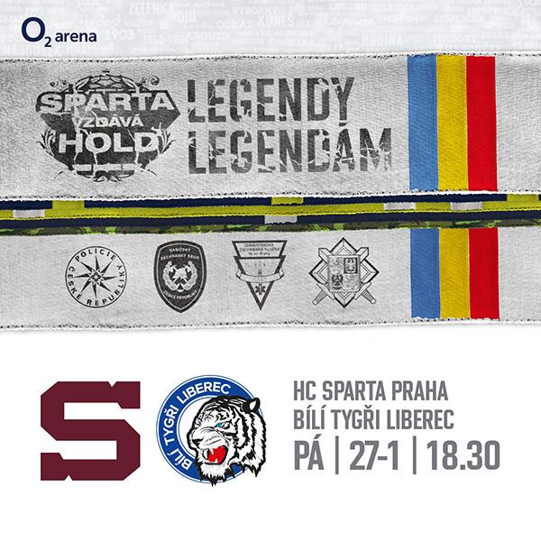 19 HC Sparta Praha - Bílí Tygři Liberec
