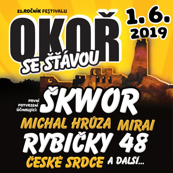 Okoř se šťávou 2019 - Open air festival