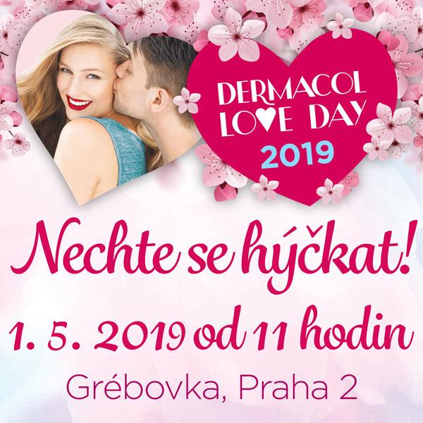 DERMACOL LOVE DAY 2019 - Růžová taška Dermacol