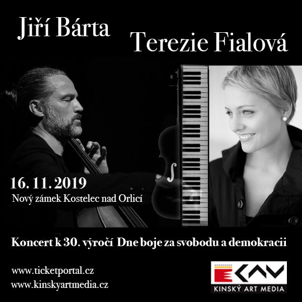 Jiří Bárta a Terezie Fialová