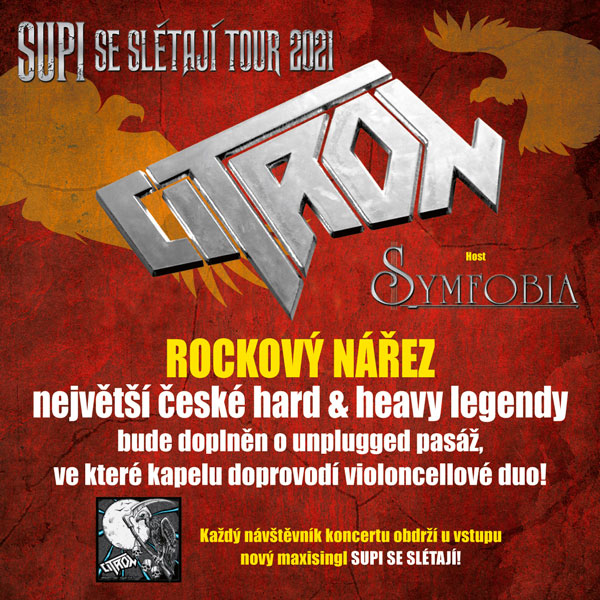 CITRON - Supi se slétají Tour 2021 / host Synfobia