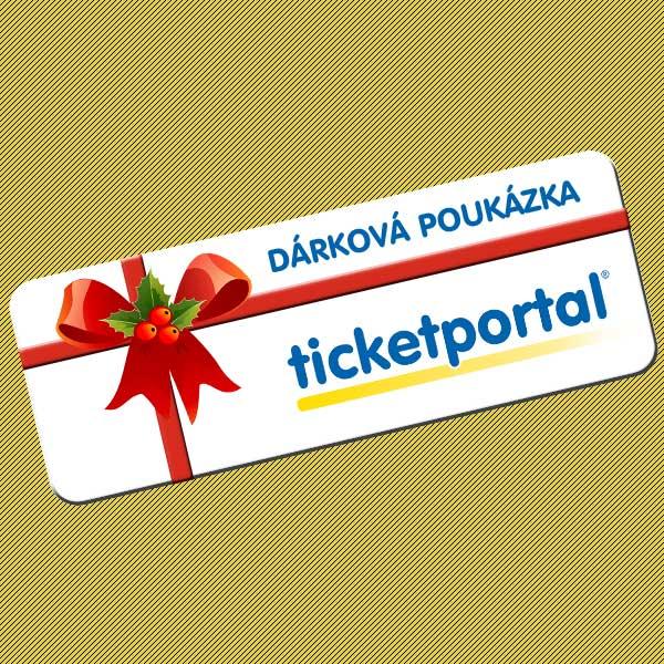 Dárková poukázka Ticketportal 2020