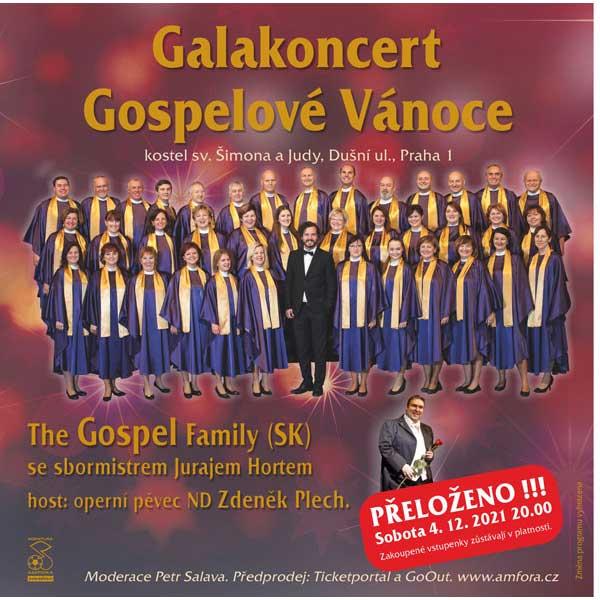 Galakoncert Gospelové Vánoce
