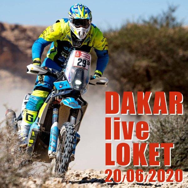 DAKAR live Loket 2020 / Krucipüsk