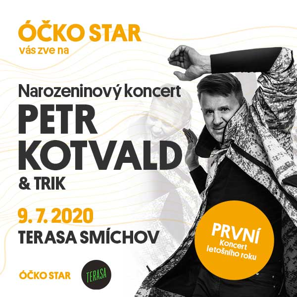 Petr Kotvald Narozeninový koncert