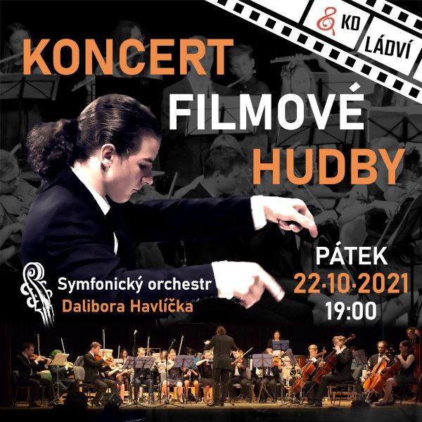 Symf. orchestr D. Havlíčka - KONCERT FILMOVÉ HUDBY