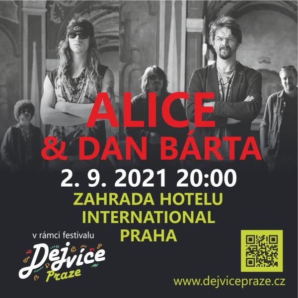 Dan Bárta & Alice pro DejVícePraze