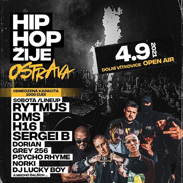 HIP HOP žije Ostrava