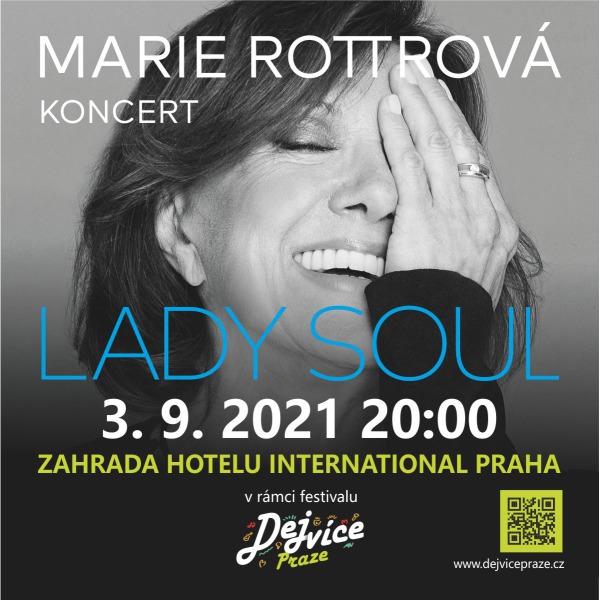 MARIE ROTTROVÁ - LADY SOUL & host Petr Němec