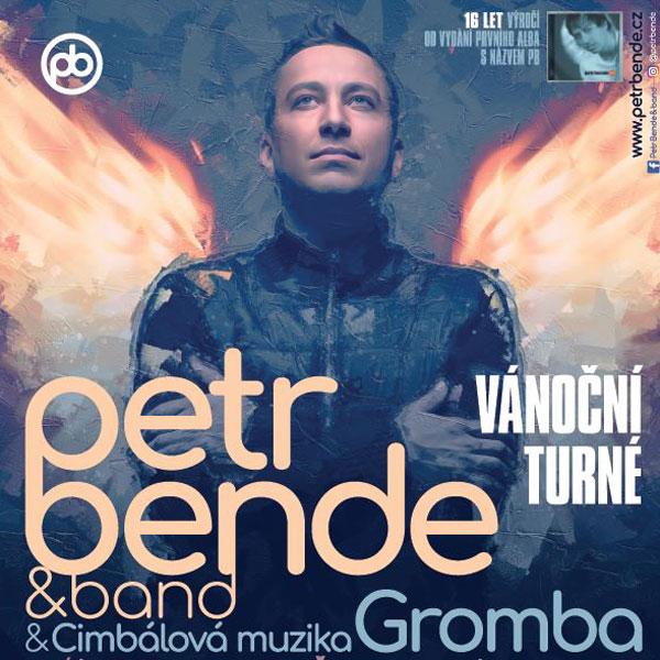 Vánoční koncert Petra Bendeho