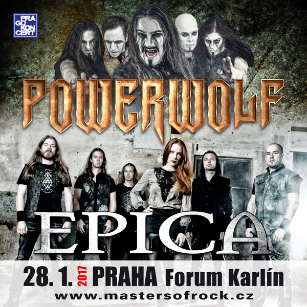 POWERWOLF & EPICA TOUR 2017