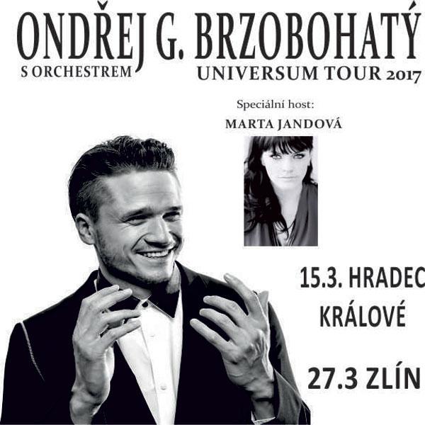 Ondřej Gregor Brzobohatý Universum Tour 2017
