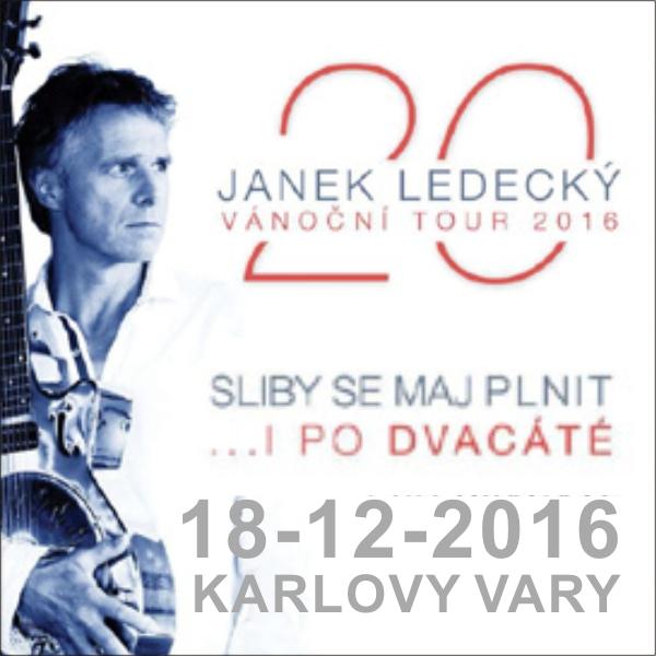 Janek Ledecký: 20 / Vánoční TOUR 2016