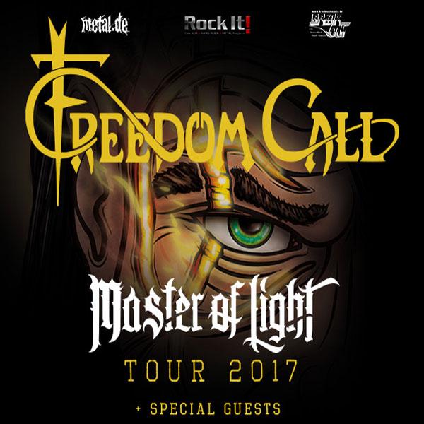 FREEDOM CALL (Ger): Master of Light Tour