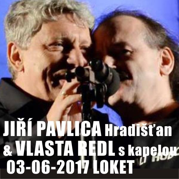 Jiří Pavlica a Hradišťan & Vlasta Redl s kapelou