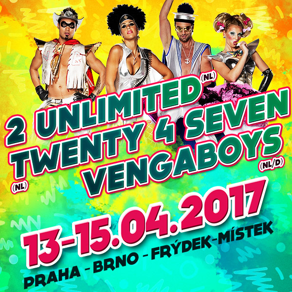 PUMP IT UP: 2 UNLIMITED/ Twenty 4 Seven/ VENGABOYS