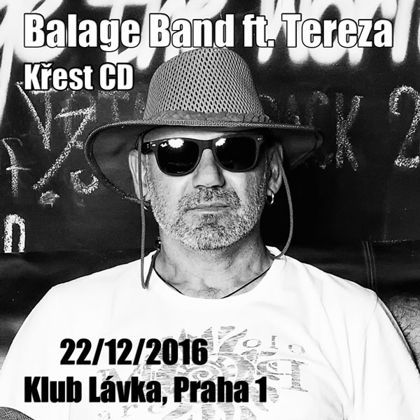 Křest CD Balage Band feat. Tereza