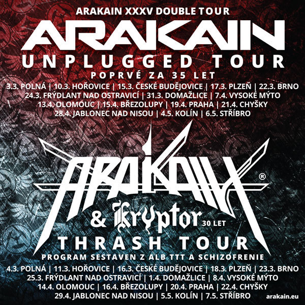 ARAKAIN XXXV DOUBLE TOUR 2017