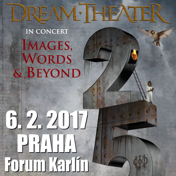 DREAM THEATER - Images, Words & Beyond Tour 2017