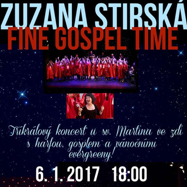 ZUZANA STIRSKÁ & FINE GOSPEL TIME