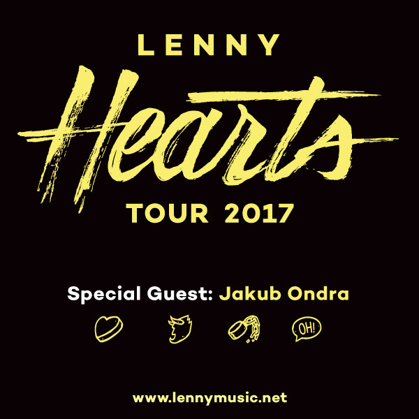 LENNY – HEARTS TOUR 2017