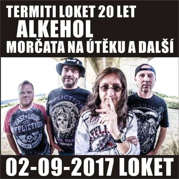 ALKEHOL / MORČATA NA ÚTĚKU / a další kapely