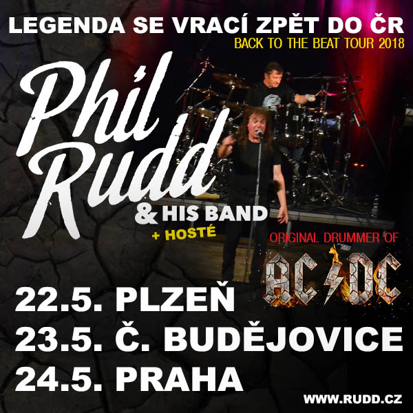 PHIL RUDD (ex-AC/DC) & His Band