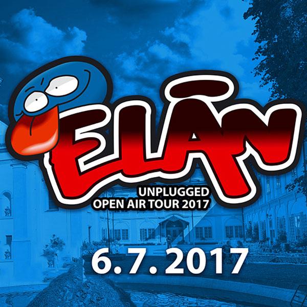 "ELÁN ""ŽIVÝCH NÁS NEDOSTANŮ"" OPEN AIR 2017"
