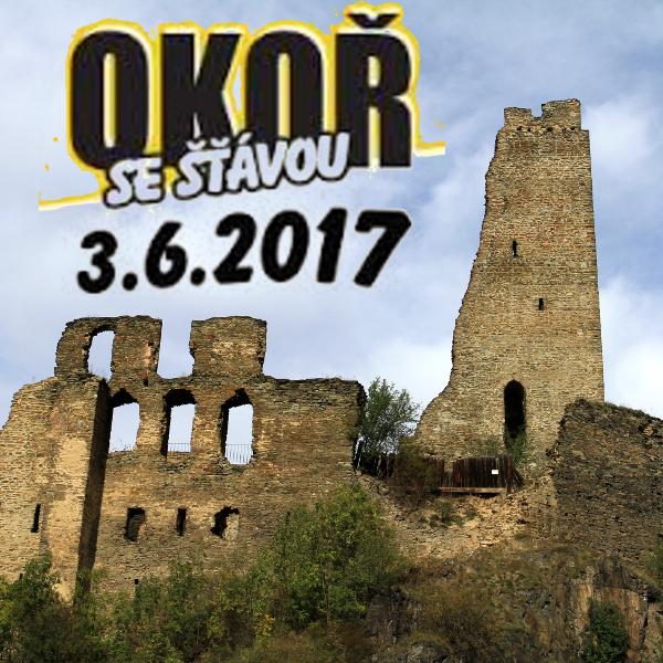 Okoř se šťávou 2017 - Open air festival