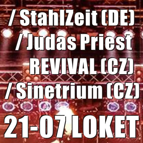 StahlZeit / Judas Priest REVIVAL / Sinetrium