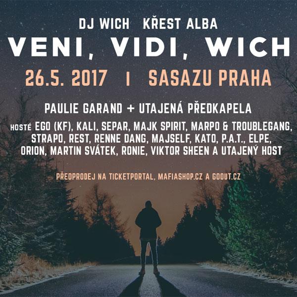 DJ WICH & HOSTÉ / křest alba Veni, Vidi, Wich