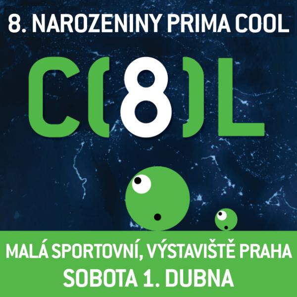 COOLDAY - 8. Narozeniny PRIMA COOL