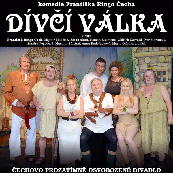 Dívčí válka, Čechovo prozatímně osvobozené divadlo