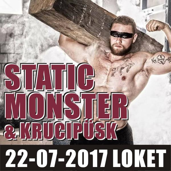 STATIC MONSTER: Jiří Tkadlčík a další + KRUCIPÜSK