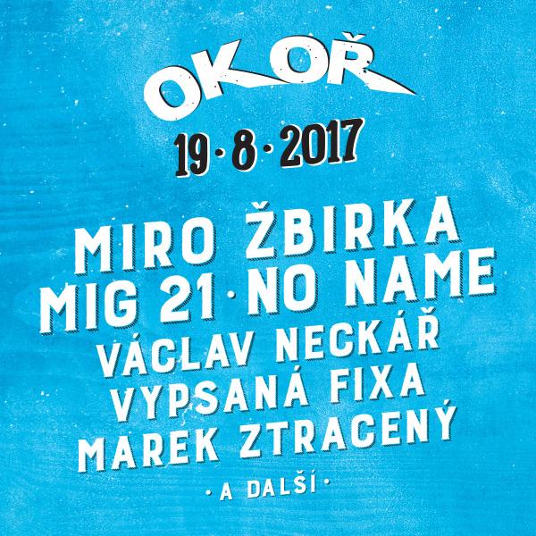 OKOŘ open air festival 2017