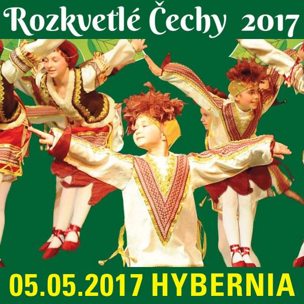 XIII. Mezinárodní festival ROZKVETLÉ ČECHY 2017