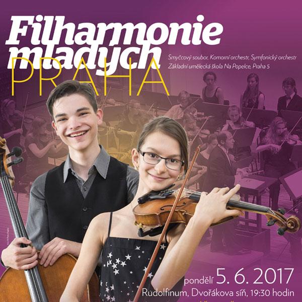 Filharmonie mladých Praha v Rudolfinu