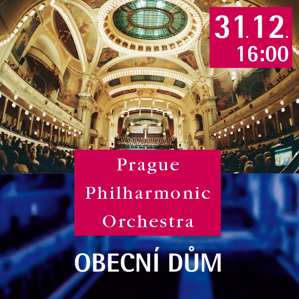 PRAGUE PHILHARMONIC Silvestrovský koncert