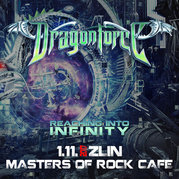 DRAGONFORCE - Reaching Into Infinity World Tour