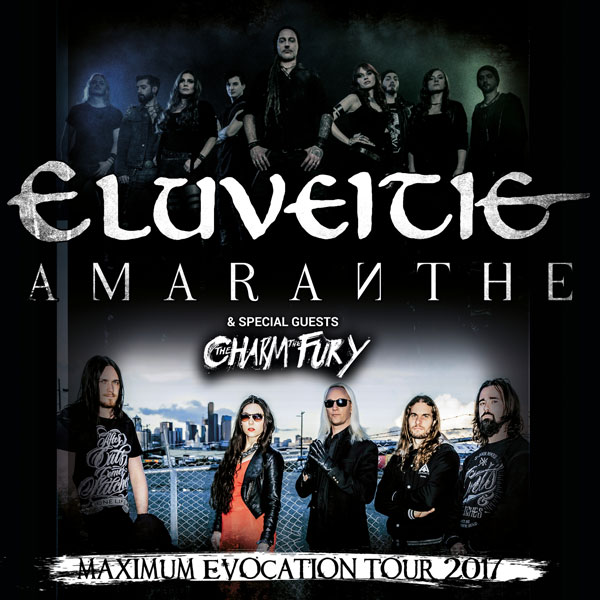 Eluveitie (SUI) and AMARANTHE (SWE)